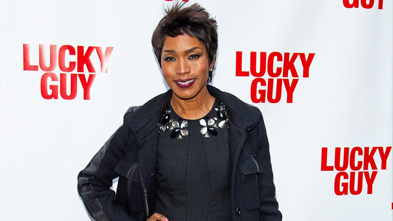 Angela Bassett arrives at the Lucky Guy Opening Night, on monday, April, 01, 2013 in New York, NY.