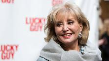 Barbara Walters arrives at the Lucky Guy Opening Night, on monday, April, 01, 2013 in New York, NY. - Provided courtesy of AP / Photo by Dario Cantatore/Invision