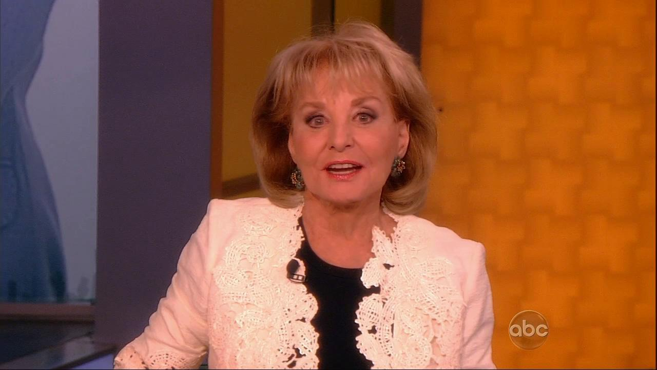 Barbara Walters appears on ABCs The View on May 13, 2013. She announced that day that she plans to retire from television in the summer of 2014.