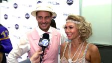 Dancing With The Stars contestants Ingo Rademacher and Kym Johnson talk to OTRC.com after season 16s ninth week of performances on May 13, 2013. - Provided courtesy of OTRC