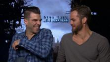 Zachary Quinto and Chris Pine talk to OTRC.com about Star Trek Into Darkness ahead of its May 16, 2013 release. - Provided courtesy of OTRC