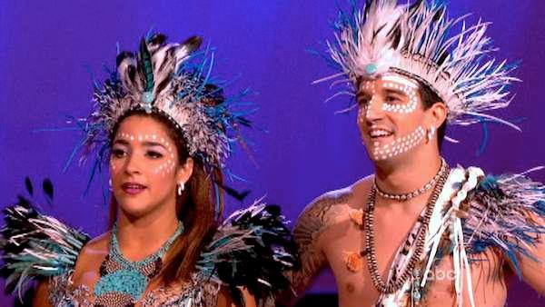Aly Raisman and Mark Ballas appear on week 9 of season 16 of Dancing With The Stars, which aired on May 13, 2013. - Provided courtesy of ABC