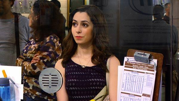 Cristin Milioti appears in a scene from How I Met Your mother from the May 13 episode. - Provided courtesy of CBS