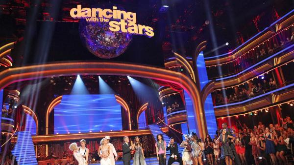 The cast of ABCs Dancing With The Stars appears on the show on May 13, 2013. - Provided courtesy of ABC Photo / Adam Taylor