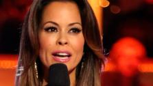 Brooke Burke-Charvet appears on ABCs Dancing With The Stars on May 13, 2013. - Provided courtesy of ABC Photo / Adam Taylor