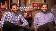 Bradley Cooper, Ed Helms and Zach Galifianakis discuss The Hangover: Part III to OTRC.com at a May 2013 press junket. - Provided courtesy of OTRC