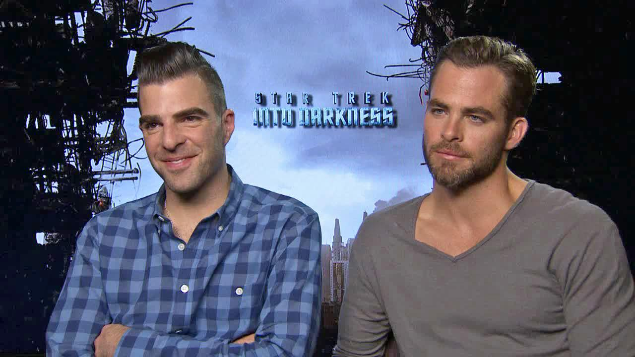 Zachary Quinto and Chris Pine talk to OTRC.com about Star Trek Into Darkness ahead of its May 16, 2013 release.