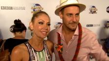 Dancing With The Stars contestant Ingo Rademacher and partner Kym Johnson talk to OTRC.com after season 16s week 9 elimination on May 14, 2013. - Provided courtesy of KABC