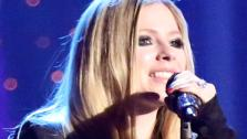 Avril Lavigne performs on Dancing With The Stars: The Results Show on May 14, 2013. - Provided courtesy of ABC Photo / Adam Taylor