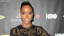 Kelly Rowland attends the Rock and Roll Hall of Fame Induction Ceremony at the Nokia Theatre on Thursday, April 18, 2013 in Los Angeles. - Provided courtesy of AP / Jordan Strauss/Invision