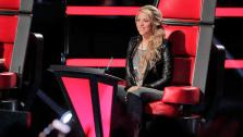 Shakira appears during the May 8, 2013 episode of The Voice. - Provided courtesy of Trae Patton / NBC