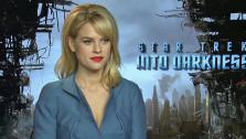Alice Eve talks to OTRC.com about Star Trek Into Darkness ahead of its May 16, 2013 release. - Provided courtesy of OTRC