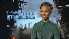 Zoe Saldana talks to OTRC.com about Star Trek Into Darkness ahead of its May 16, 2013 release. - Provided courtesy of OTRC