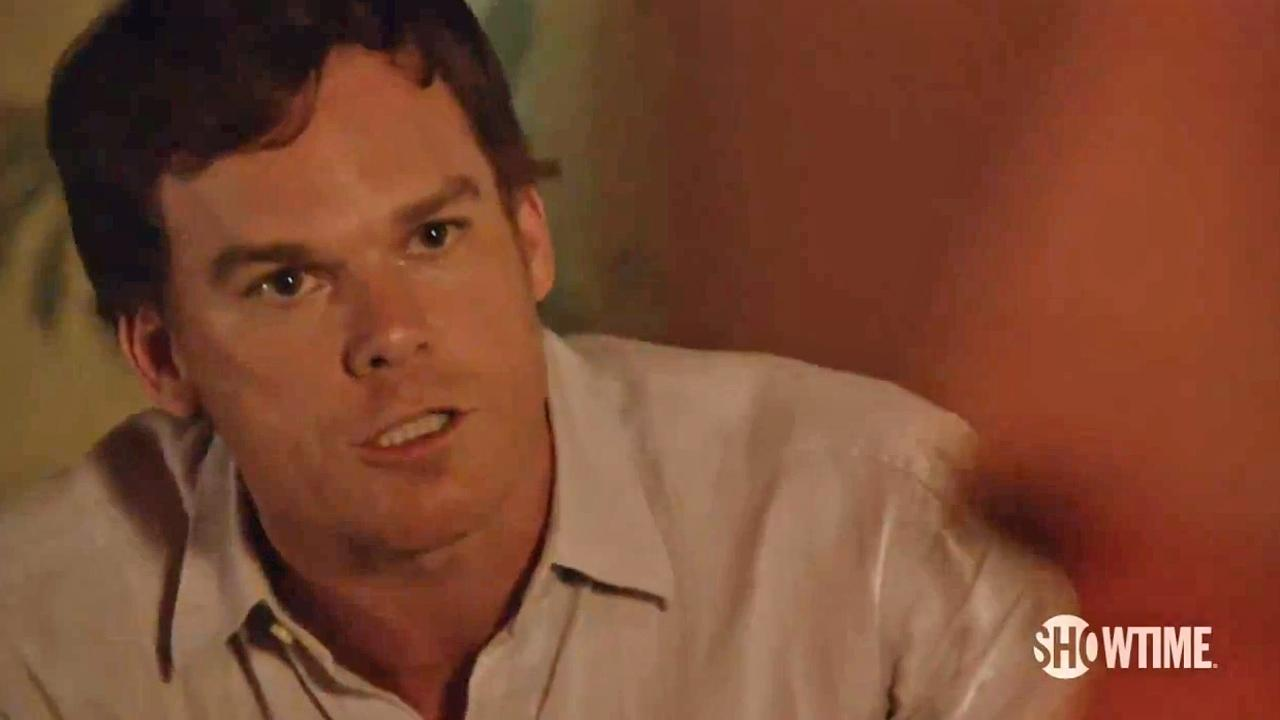 Michael C. Hall appears in a scene from Dexters eighth and final season, which premieres on June 30, 2013.