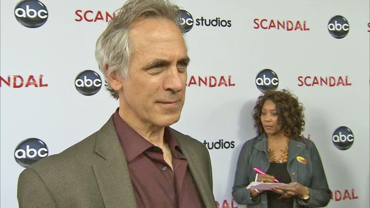 Tom Amandes talked to OTRC.com at the Scandal at the Academy of Television Arts and Sciences on May 16, 2013.