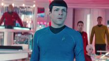 Zachary Quinto appears in a scene from the film Star Trek Into Darkness, set to be released on May 17, 2013. - Provided courtesy of none / Bad Robot