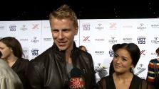 Sean Lowe and Catherine Giudici talk to OTRC.com at the Maxim Hot 100 women event on May 16, 2013 about Miley Cyrus and the Dancing With The Stars finale. - Provided courtesy of OTRC