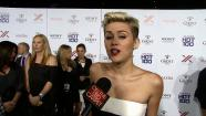 Miley Cyrus talks to OTRC.com at the Maxim Hot 100 women event on May 16, 2013. She was deemed the magazines Hottest Woman. - Provided courtesy of OTRC
