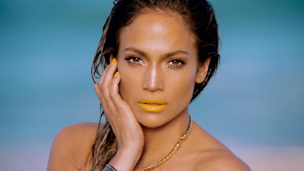 Jennifer Lopez appears in a scene from the music video for her single Live It Up. The video was released on May 17, 2013.