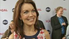 Bellamy Young talked to OTRC.com at the Scandal at the Academy of Television Arts and Sciences on May 16, 2013. - Provided courtesy of OTRC
