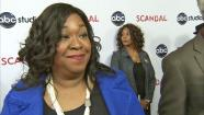 Shonda Rhimes talked to OTRC.com at the Scandal at the Academy of Television Arts and Sciences on May 16, 2013. - Provided courtesy of OTRC