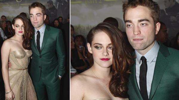 Kristen Stewart, left, and Robert Pattinson attend the world premiere of The Twilight Saga: Breaking Dawn Part II at the Nokia Theatre on Monday, Nov. 12, 2012, in Los Angeles. - Provided courtesy of Matt Sayles/Invision/AP