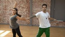 Dancing With The Stars contestant Aly Raisman nd partner Mark Ballas rehearse ahead of the season 12 finale. They will perform on Monday, May 20, 2013 and the winner will be announced on Tuesday. - Provided courtesy of OTRC