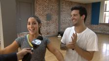 Dancing With The Stars contestant Aly Raisman and partner Mark Ballas talk to OTRC.com ahead of the season 12 finale. They will perform on Monday, May 20, 2013 and the winner will be announced on Tuesday. - Provided courtesy of OTRC