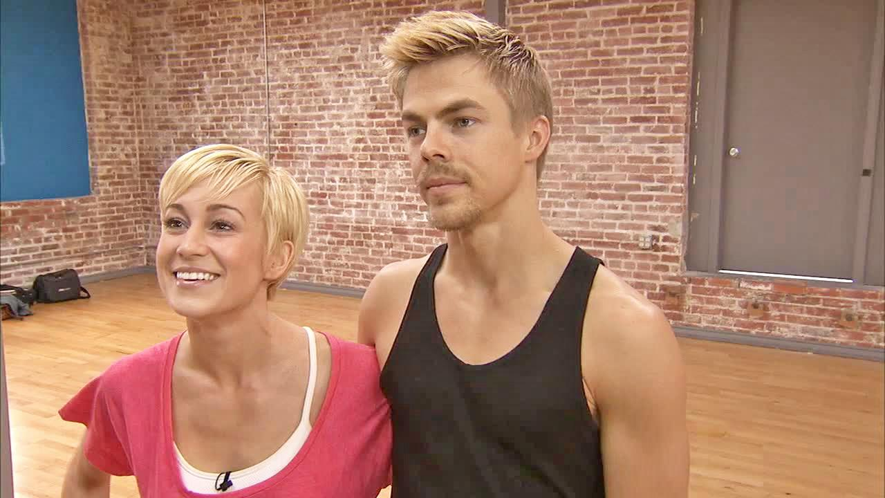 Dancing With The Stars contestant Kellie Pickler and partner Derek Hough talk to OTRC.com ahead of the season 12 finale. They will perform on Monday, May 20, 2013 and the winner will be announced on Tuesday.