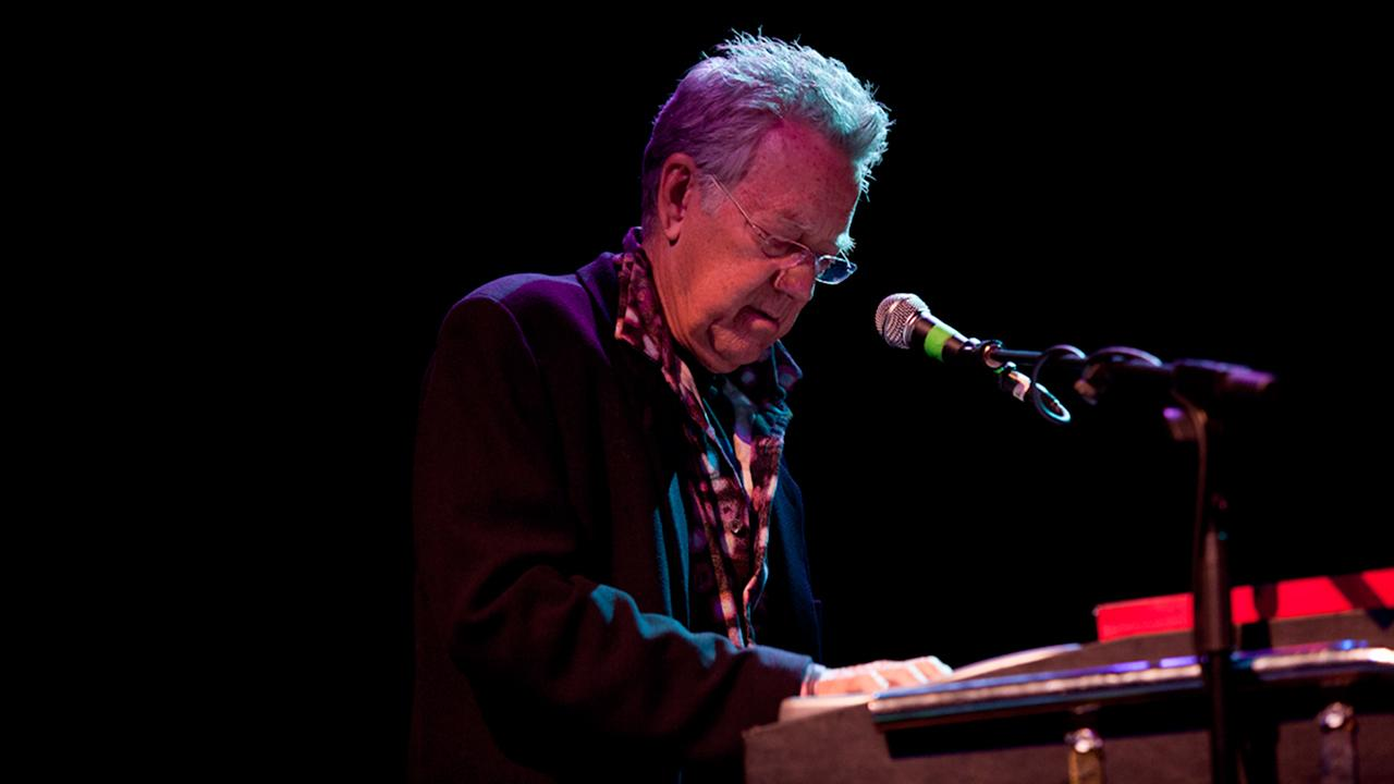 Ray Manzarek of The Doors performs at the Congress Theatre in Chicago on Nov. 13, 2011.