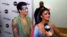 Dancing With The Stars contestants Aly Raisman and Mark Ballas talk to OTRC.com after season 16s tenth week of performances on May 20, 2013. - Provided courtesy of OTRC