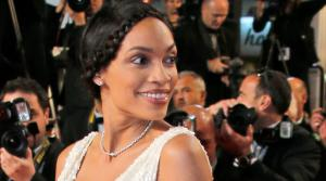 Actress Rosario Dawson arrives for the screening of Shield of Straw at the 66th international film festival, in Cannes, southern France, Monday, May 20, 2013. - Provided courtesy of AP Photo/Lionel Cironneau