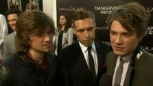 Taylor Hanson appears at the premiere of The Hangover Part III in Los Angeles on May 20, 2013. - Provided courtesy of AP