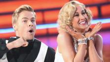 Kellie Pickler and partner Derek Hough appear on week 10 of Dancing With The Stars on May 20, 2013. - Provided courtesy of ABC Photo / Adam Taylor