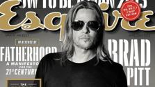 Brad Pitt appears on the June 2013 cover of Esquire magazine. - Provided courtesy of Esquire magazine