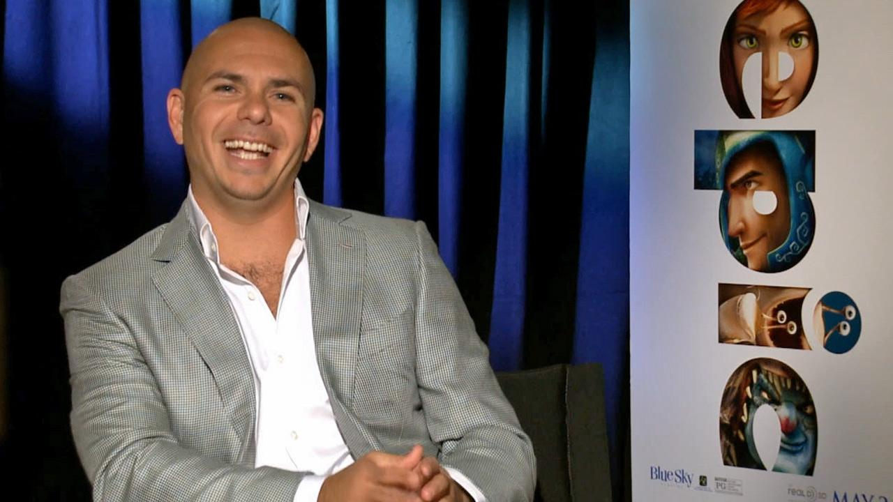 Pitbull, aka Armando Perez, talked about his animated adventure film Epic to OTRC.com in May 2013.