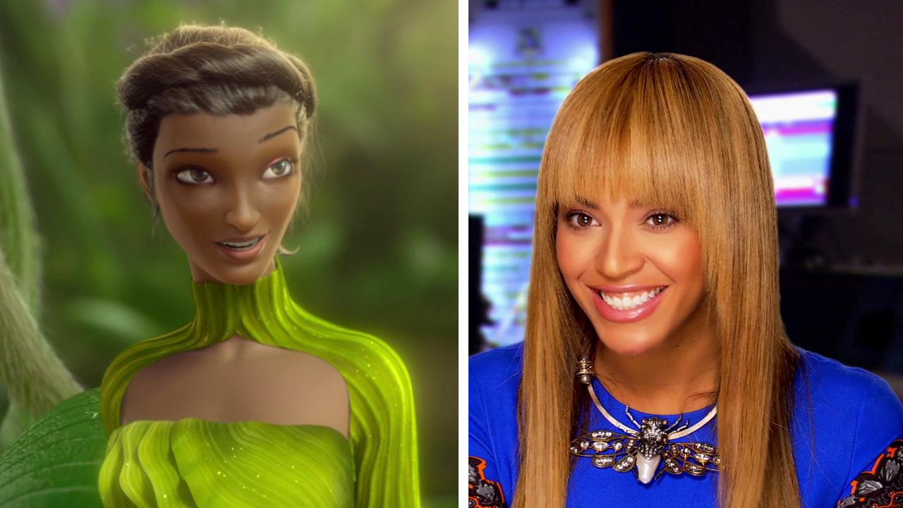 Beyonce appears as Queen Tara in the 2013 animated film Epic. / Beyonce talks about Epic.