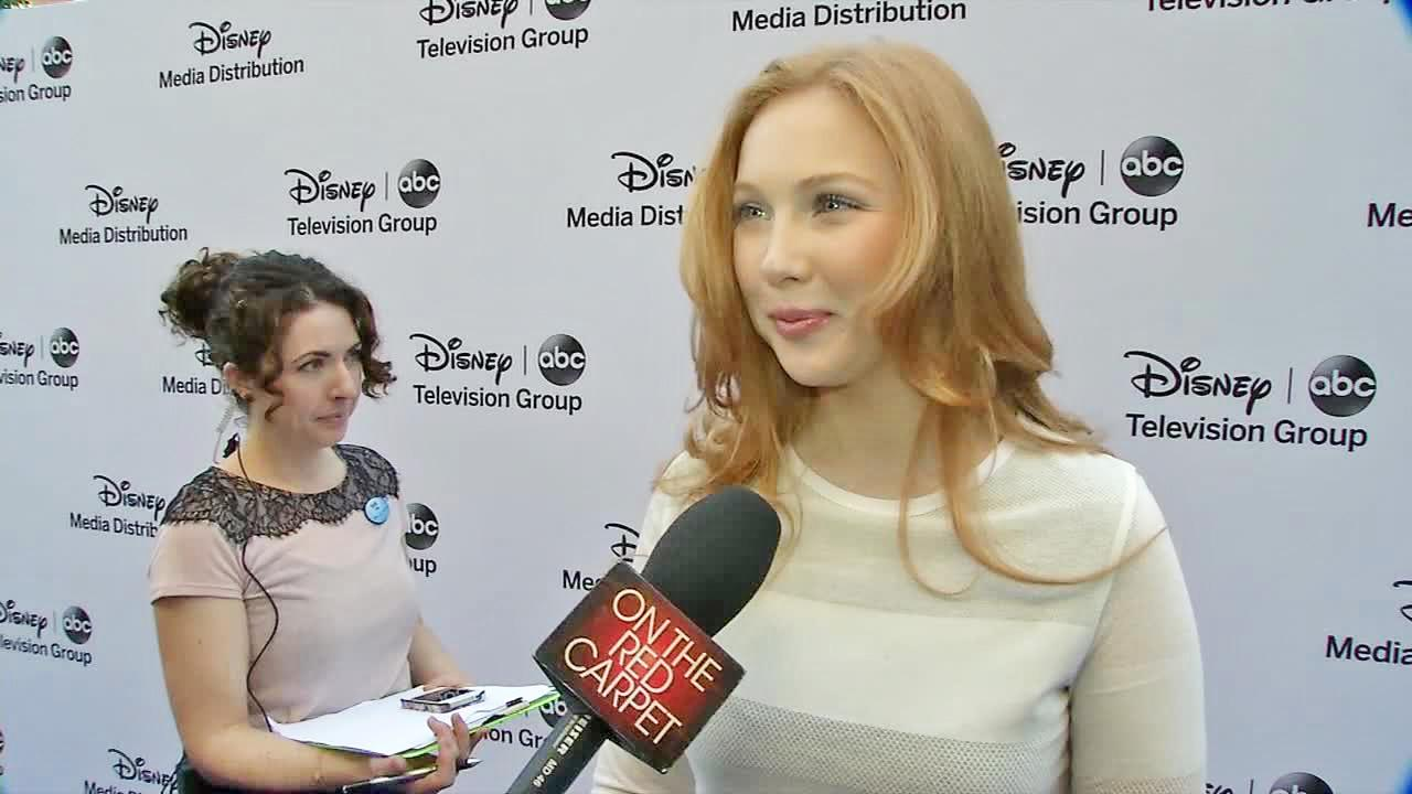 Molly C. Quinn talked to OTRC.com at the ABC Upfronts party on May 19, 2013.
