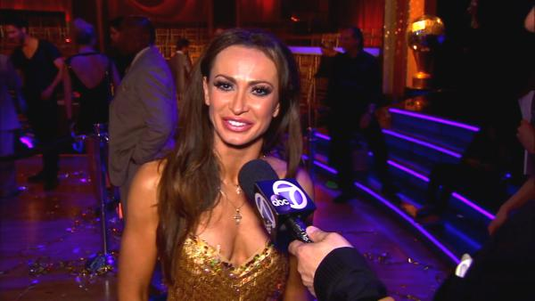 Dancing With The Stars Karina Smirnoff talks to OTRC.com after season 16s finale episode on May 21, 2013.