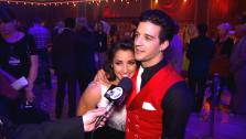Dancing With The Stars contestants Aly Raisman and Mark Ballas talk to OTRC.comafter season 16s finale episode on May 21, 2013. - Provided courtesy of OTRC