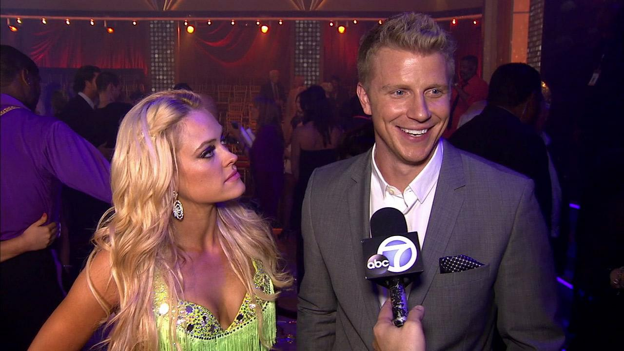 Bachelor star Sean Lowe talks to OTRC.com about his wedding plans, speaking alongside Dancing With The Stars partner Peta Murgatroyd at the May 21, 2013 finale. Lowe is set to wed Bachelor winner Catherine Giudici.