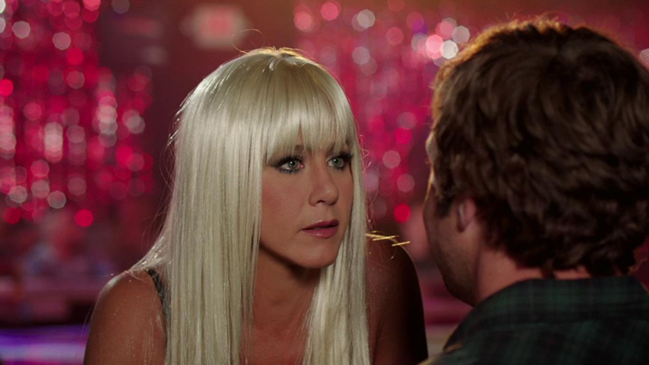 Jennifer Aniston appears in a scene from the 2013 comedy film Were The Millers.