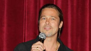 Co-host Brad Pitt appears at a special tastemaker screening of Paramount Pictures new film World War Z at The Museum of Modern Art in New York on Wednesday, May 22, 2013. - Provided courtesy of Dave Allocca / Startraks for Paramount Pictures