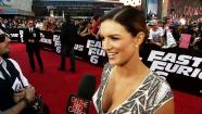 Gina Carano talks to OTRC.com at the L.A. premiere of the 2013 movie Fast and Furious 6.