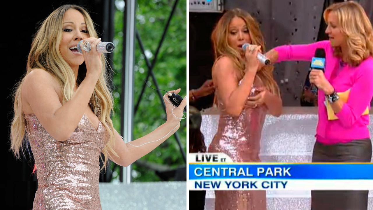 Mariah Carey appears on Good Morning America on May 24, 2013.
