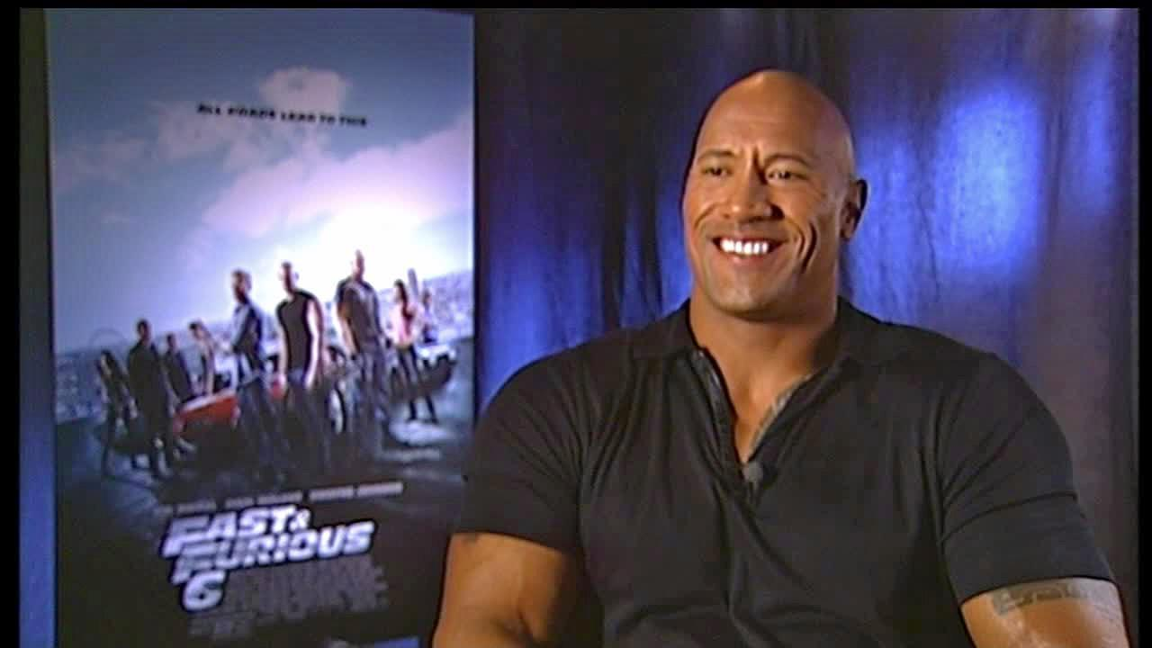 Dwayne Johnson talked to OTRC.com in a satellite interview in May 17, 2013.