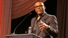 Orchid Humanitarian Award Winner Tyler Perry at the CARRY Foundations 7th Annual Shall We Dance Gala at The Beverly Hilton Hotel on Saturday, May 11, 2013 in Beverly Hills, California. - Provided courtesy of Todd Williamson/Invision for CARRY Foundation/AP Images