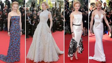 Actress and jury member Nicole Kidman poses for photographers as she arrives at the 66th international film festival, in Cannes, southern France in May 2013. - Provided courtesy of AP