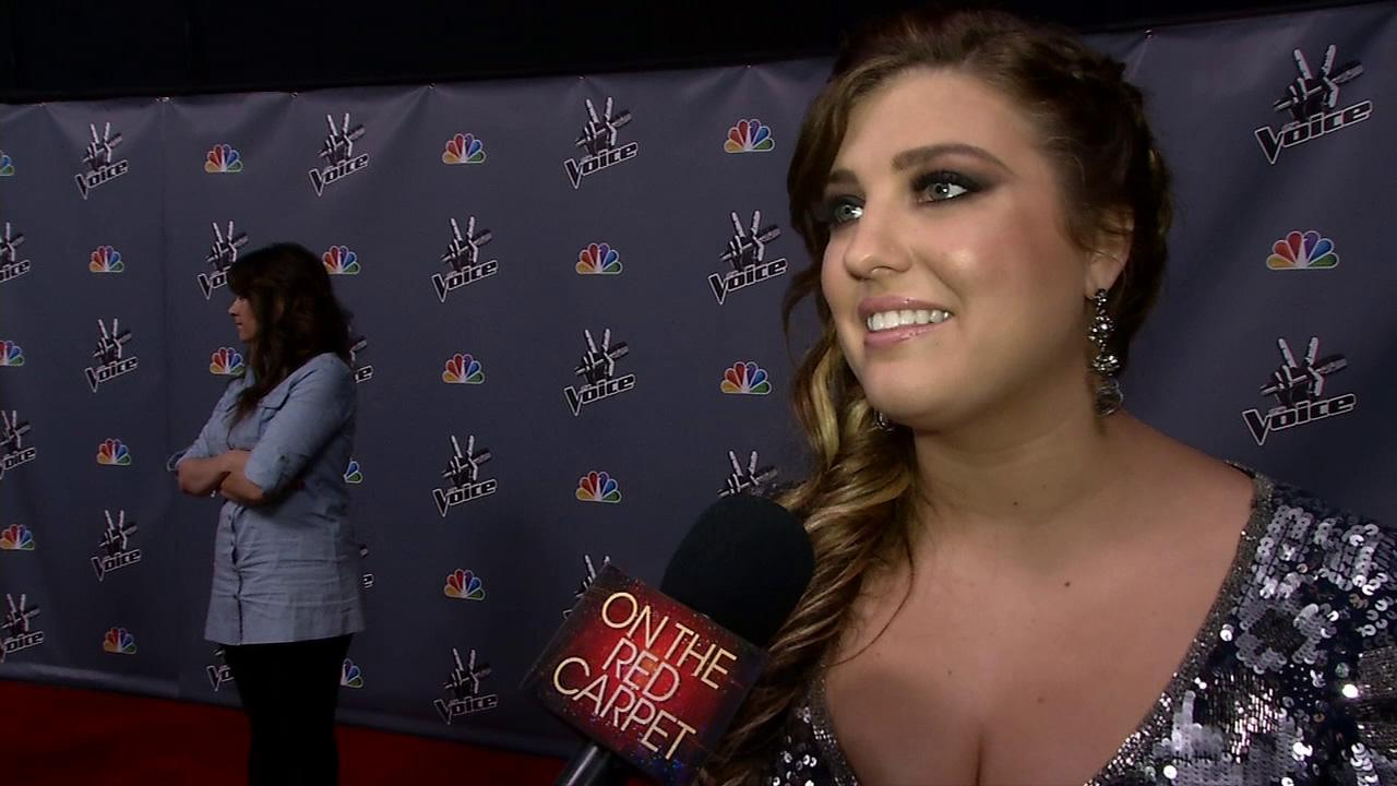 Sarah Simmons talks to OTRC.com after a live taping of The Voice season 4 on May 27, 2013.