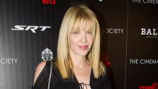 Courtney Love attends the premiere of Stand Up Guys hosted by The Cinema Society and Chrysler on Sunday, Dec. 9, 2012 in New York. - Provided courtesy of OTRC / Charles Sykes/Invision/AP